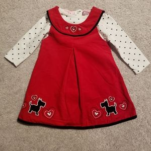 Baby Girls Corduroy Dress Set